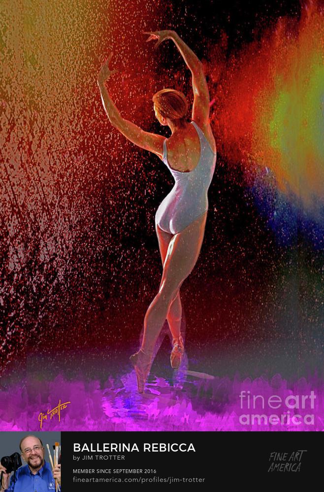 Untitled 2Ballerina Rebecca by jim trotter