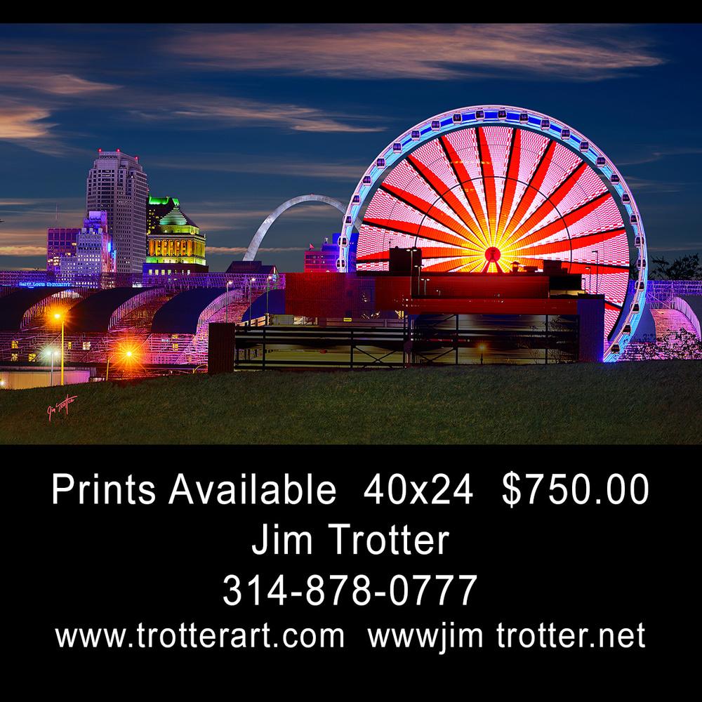Ferris Wheel St Louis by jim trotter