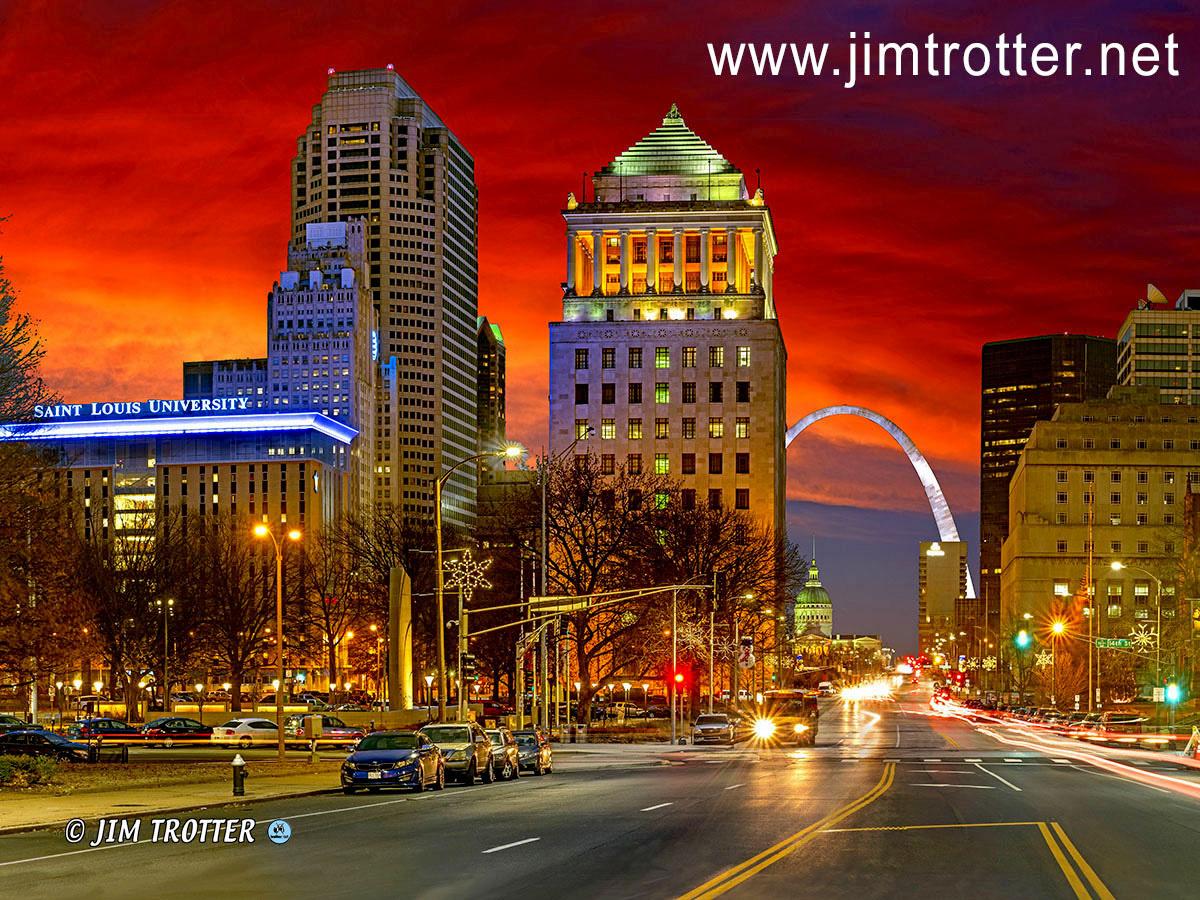 Sunrise Marketstreet St Louis MO by jim trotter