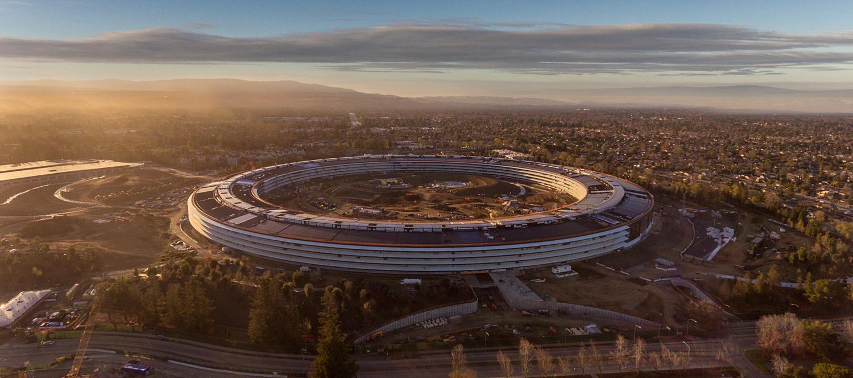 "Apple ""Spaceship"" Building by Paul Ferradas"