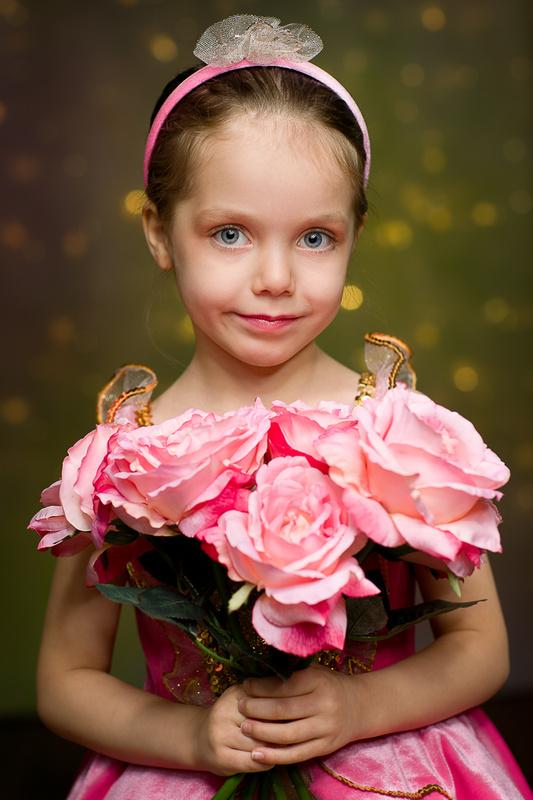 Natasha: PInk Princess Ballet Costume by TImothy Tichy