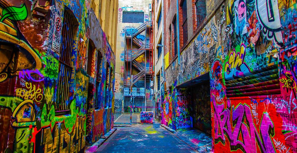 Laneway Graffiti by John John