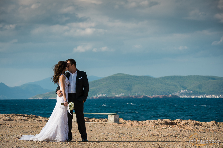 Wedding in Aegina by Stefanos infinity