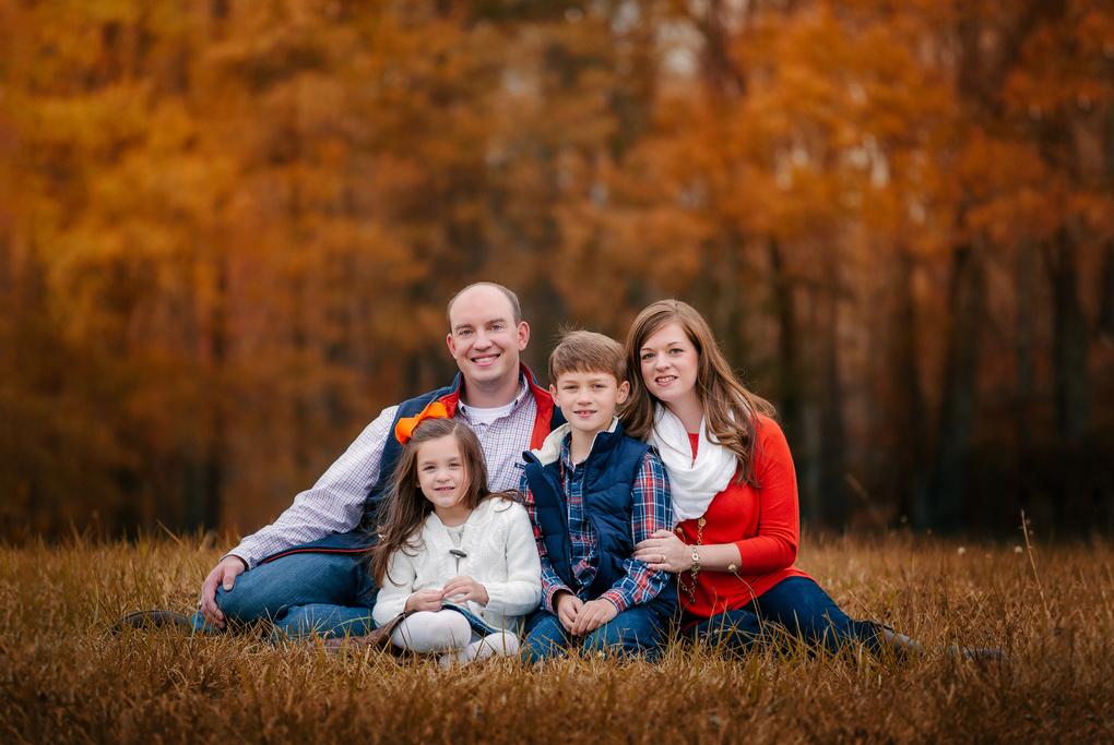 Family portrait by Mel Myers