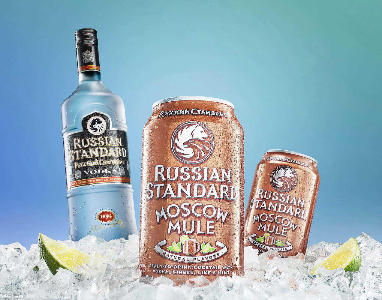Russian Standard Vodka Cocktail Shoot by Yechiel Orgel