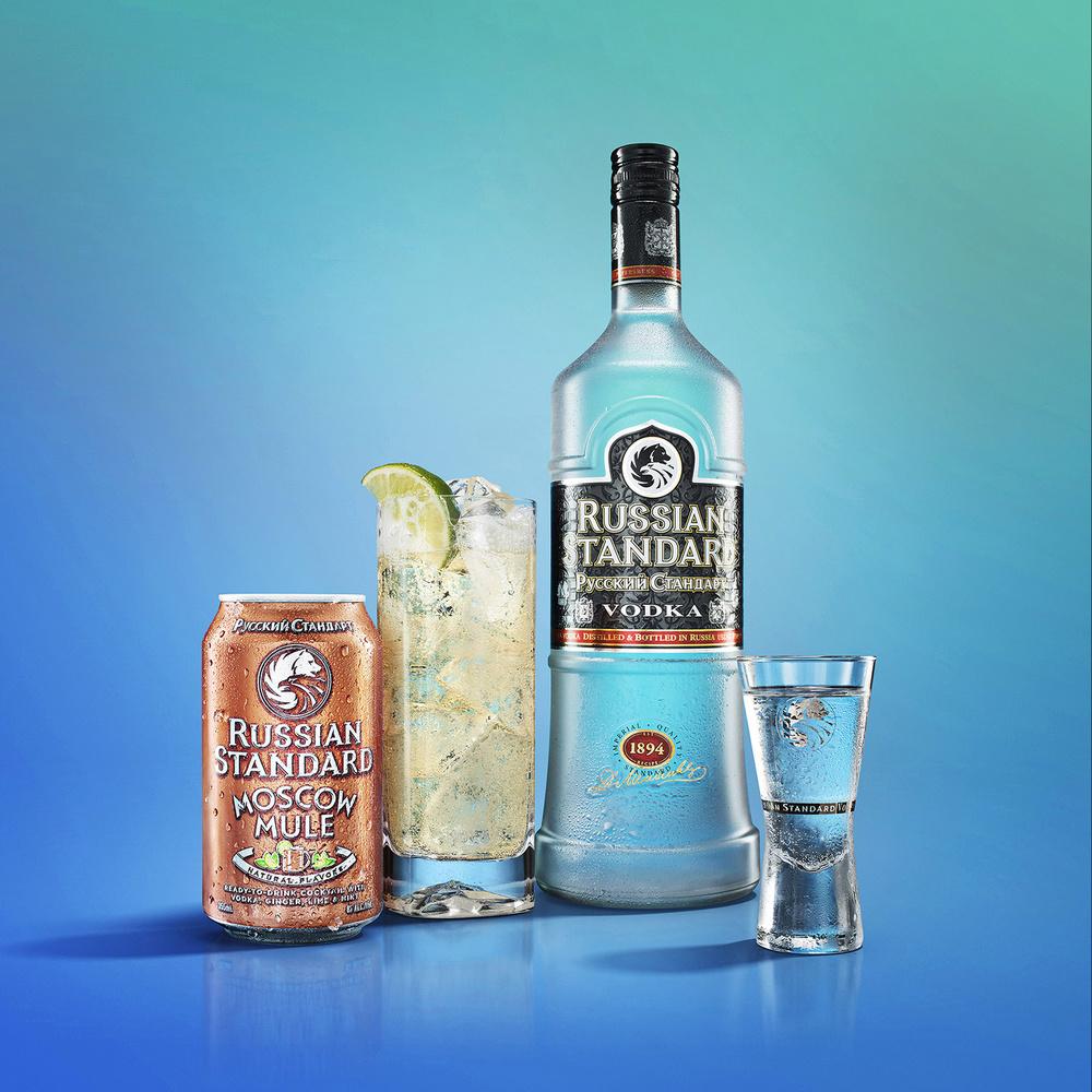 Russian Standard Vodka Cocktail Shoot by Yechiel Orgel