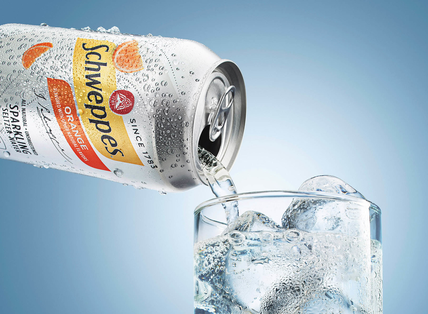 Schweppes Launch Campaign by Yechiel Orgel