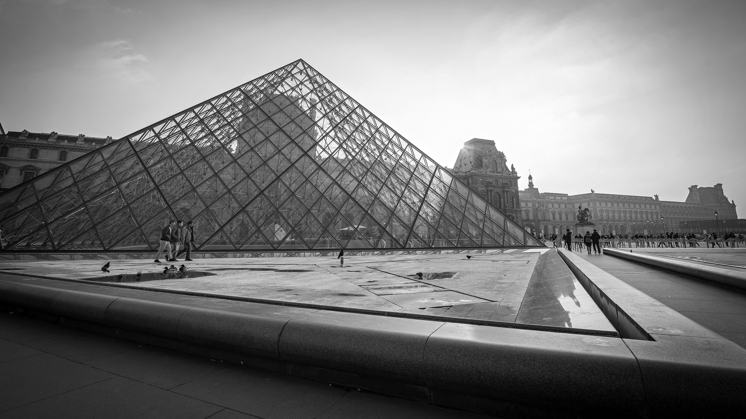 Shapes at the Louvre by Daniel Lightfoot