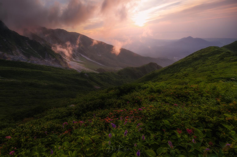 Colorful Mountain by Daiki Kuroda