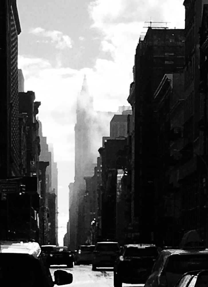 Broadway after rain 02 by William Hunt