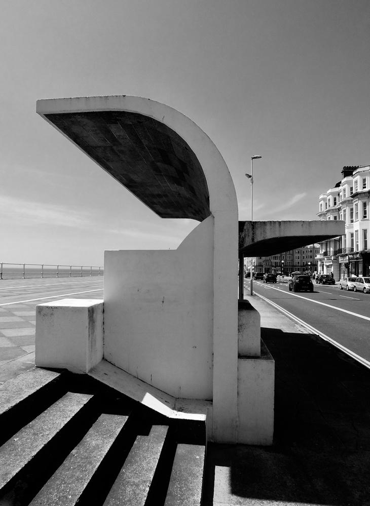 Modernist shelter by William Hunt