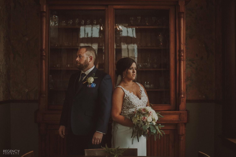 wedding portrait by Kyle Miller