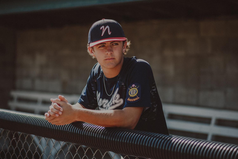 Baseball Portrait by Kyle Miller
