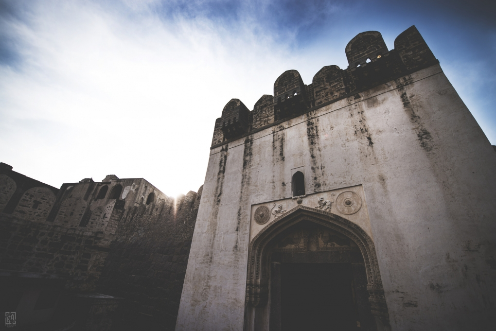 The Golkonda Fort by Eshaan Girri