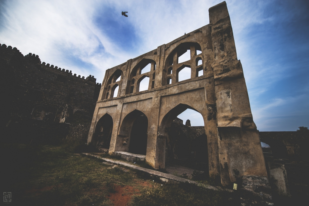The Golkonda Fort by Eshaan Girri