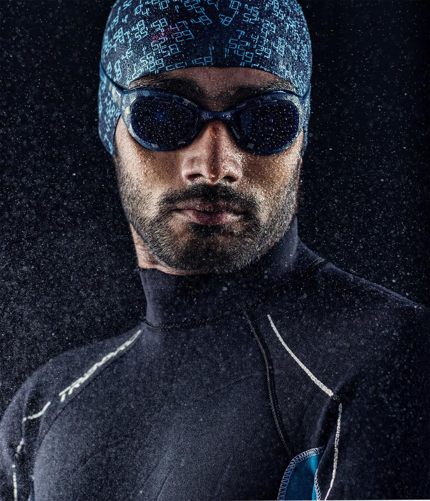 Swimmer Portrait by Ashwin pk