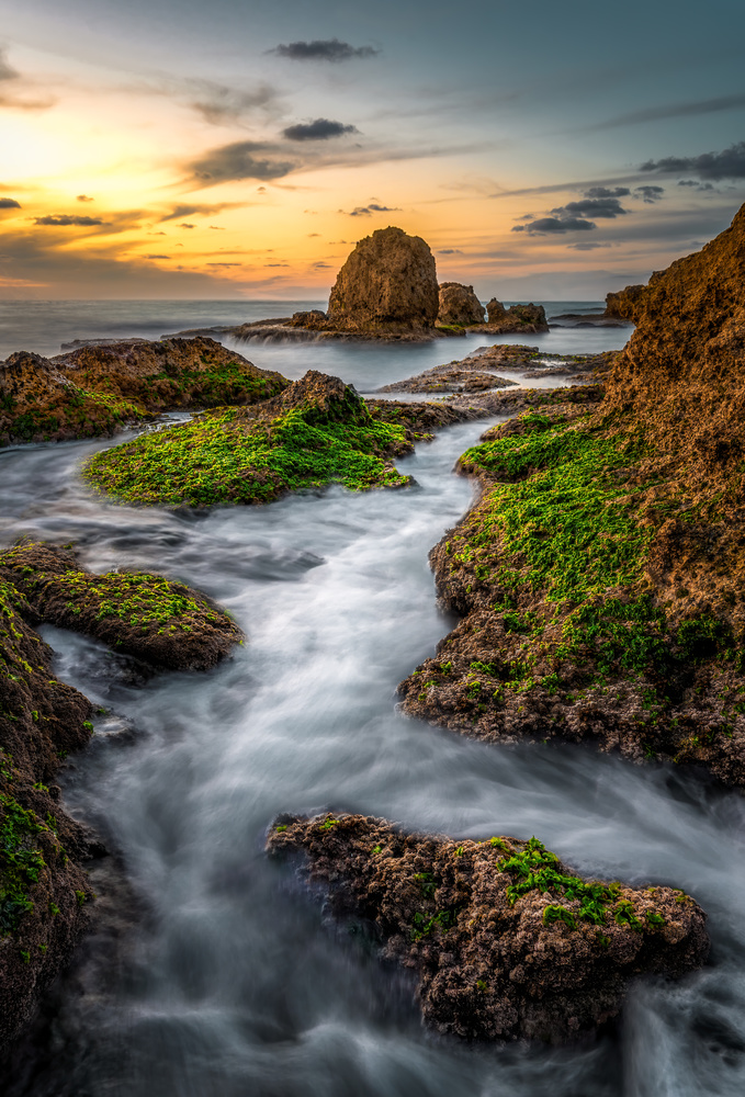 Path between the Rocks by German Shtainberg