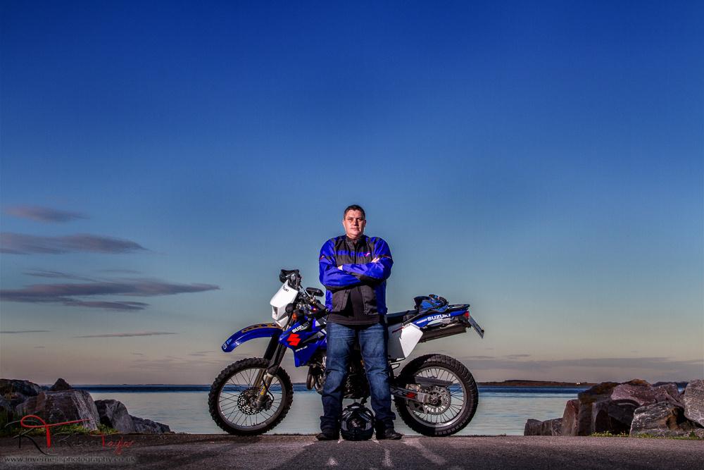 Blue Sky Biking by Robert Taylor