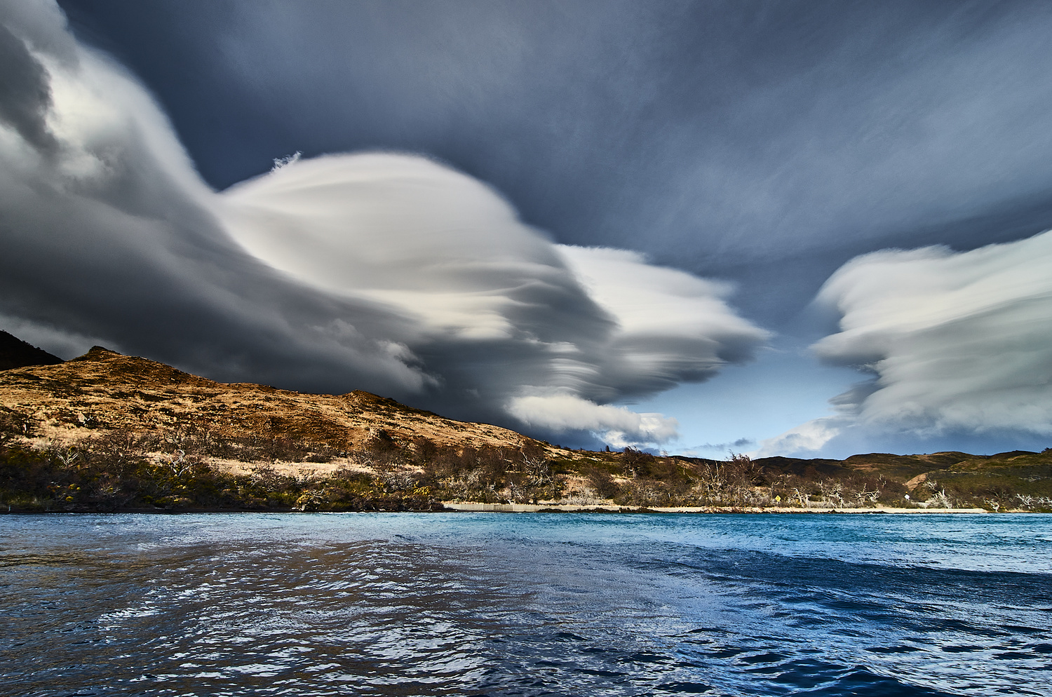 Lenticular Clouds by Manuel Fuentes
