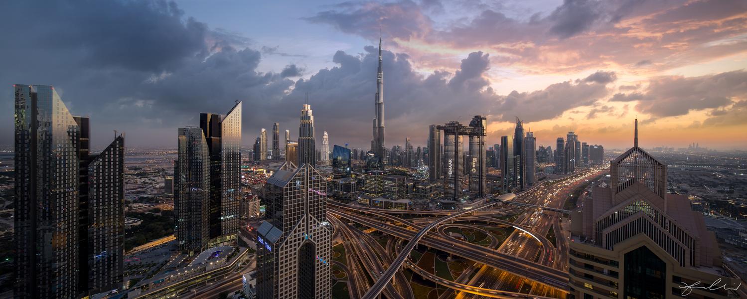 Dubai Heart of the City by Fraser Almeida