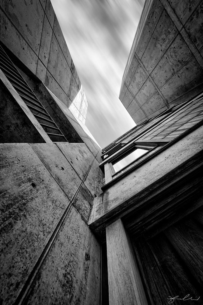 Salk Institute - Vertical by Fraser Almeida