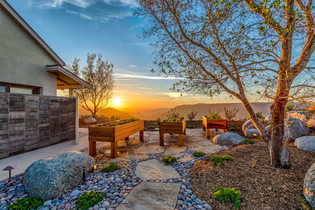 San Diego Hilltop Sunset by Fraser Almeida