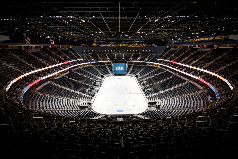 Las Vegas Hockey Stadium - T Mobile Arena by Fraser Almeida