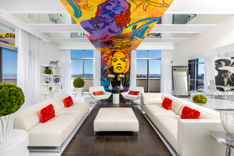Las Vegas Allure Penthouse Interior by Fraser Almeida