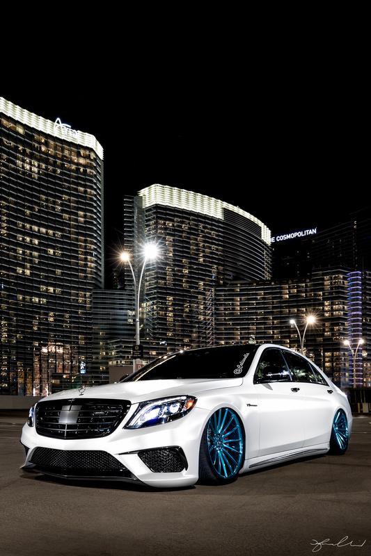 2016 Mercedes S63 AMG - Las Vegas, City Center by Fraser Almeida