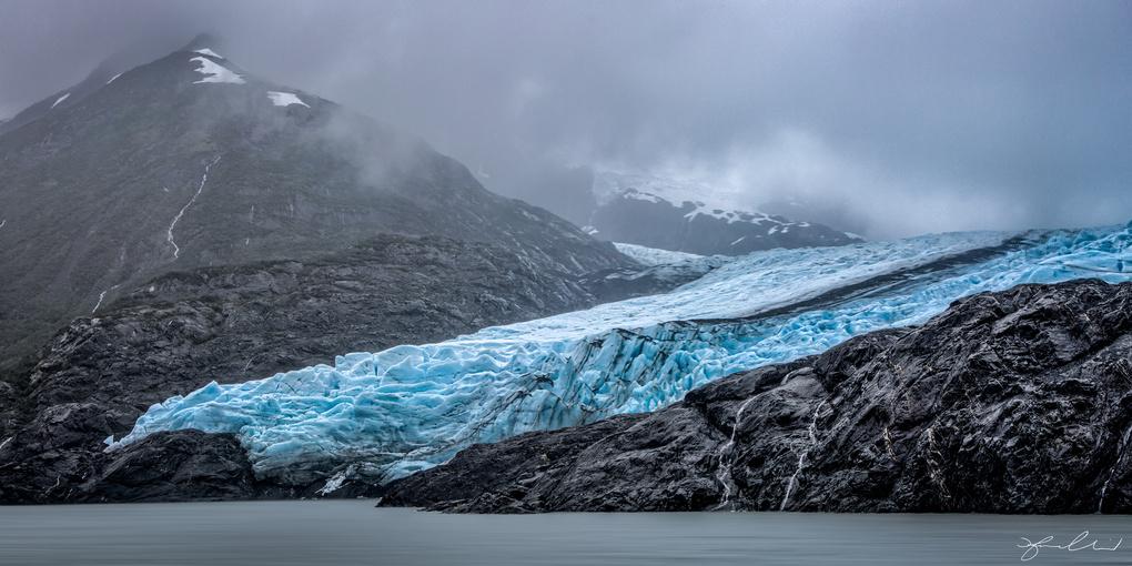 Portage Glacier - Girdwood Alaska by Fraser Almeida