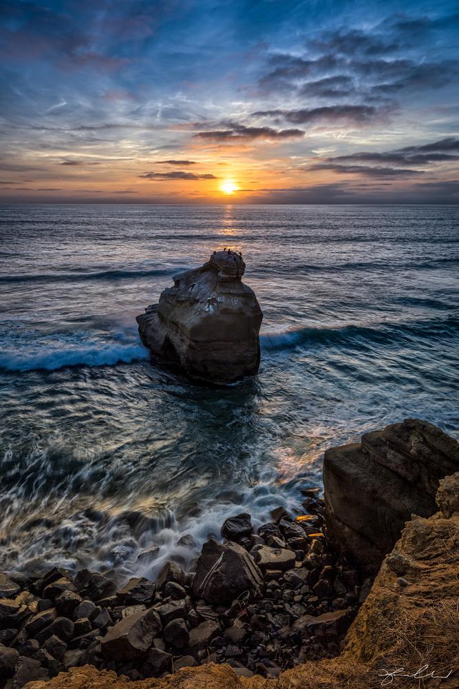 San Diego Sunset by Fraser Almeida