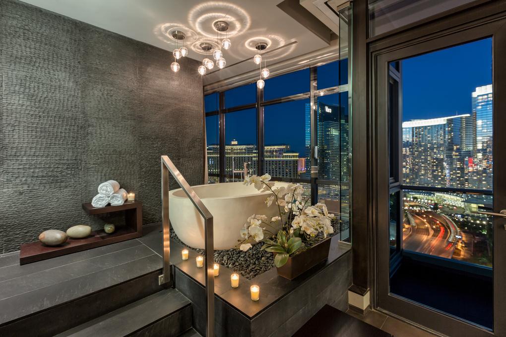 Luxury Bath - Las Vegas Highrise Condo by Fraser Almeida