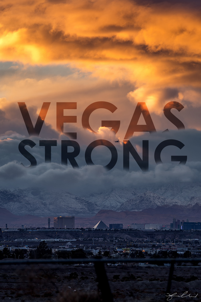 VEGAS STRONG! by Fraser Almeida