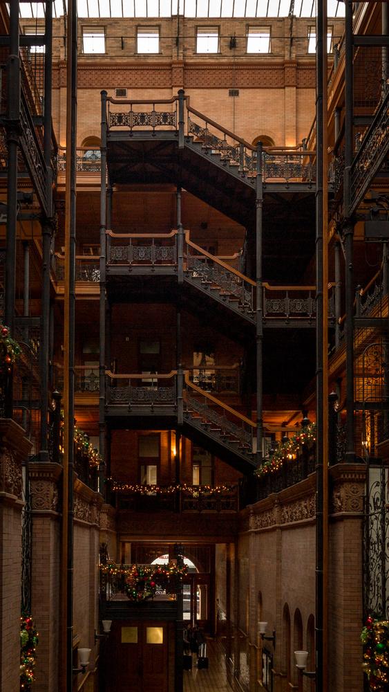Bradbury Building by Fraser Almeida