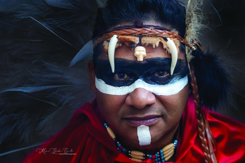 Tribal Warrior by Myrna Gordon-Covelli