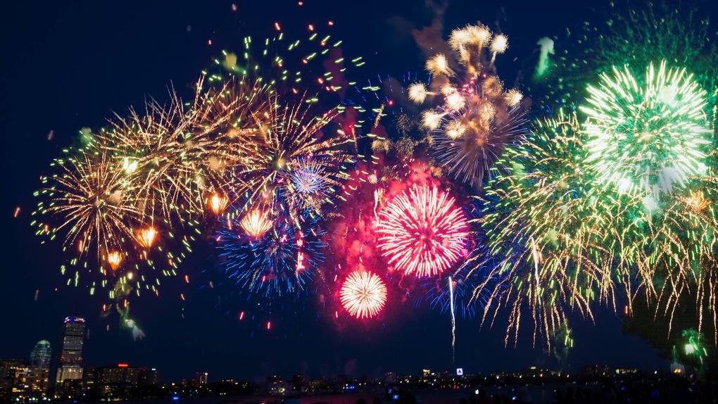 Boston Fireworks by Matt Owen