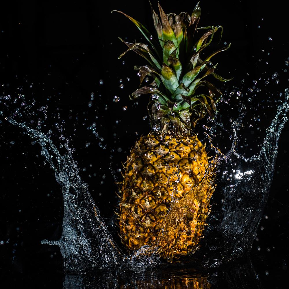 A splash of pineapple by Matt Owen