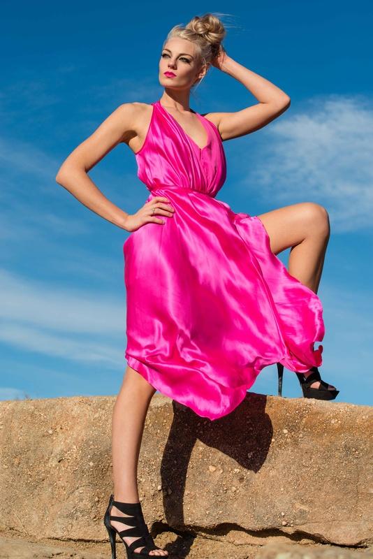Shot of pink by Caroline Miller