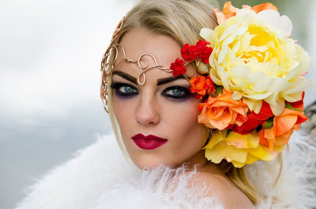Flower beauty by Caroline Miller