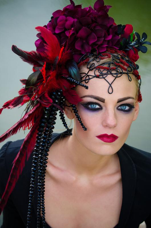 Dark beauty by Caroline Miller
