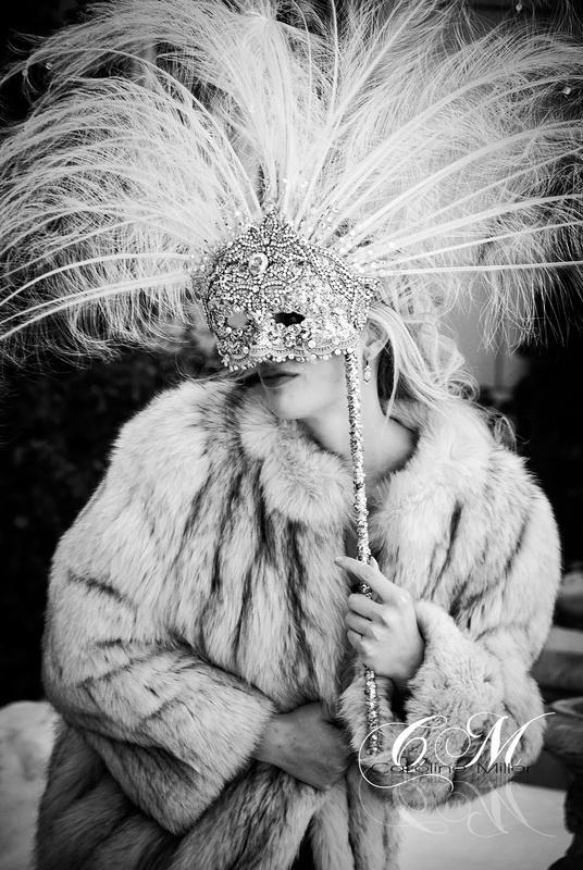 Behind the mask by Caroline Miller