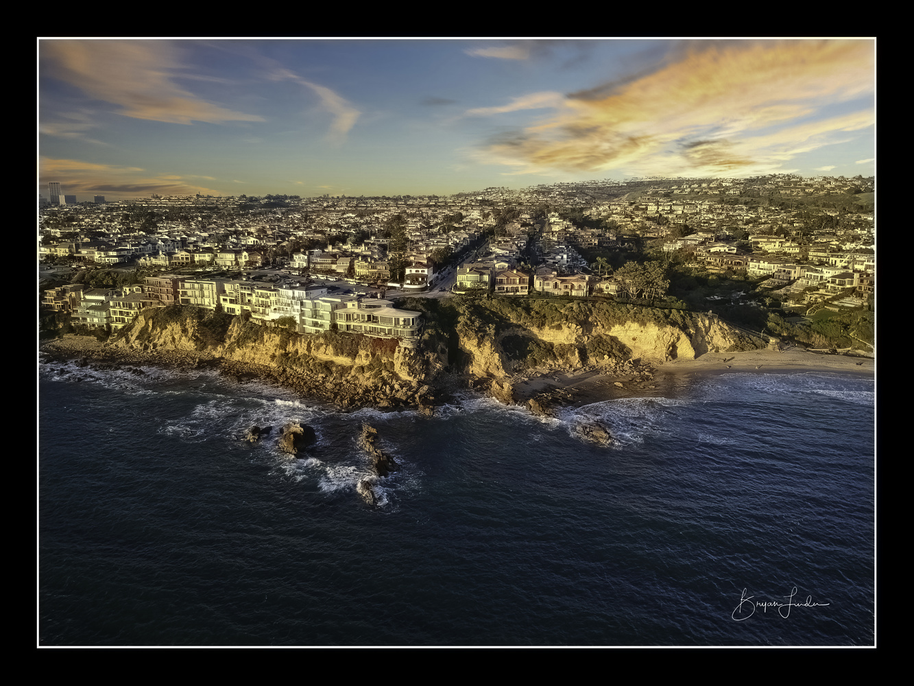 Corona Del Mar by drone by Bryan Linden