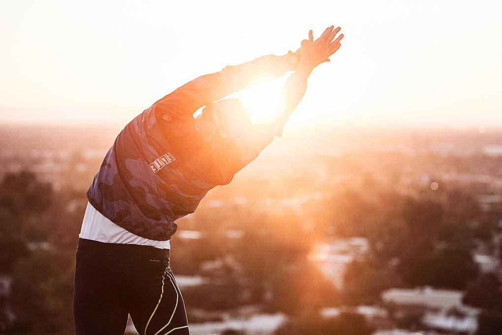 Stretch at Sunrise by Chris Cardoza