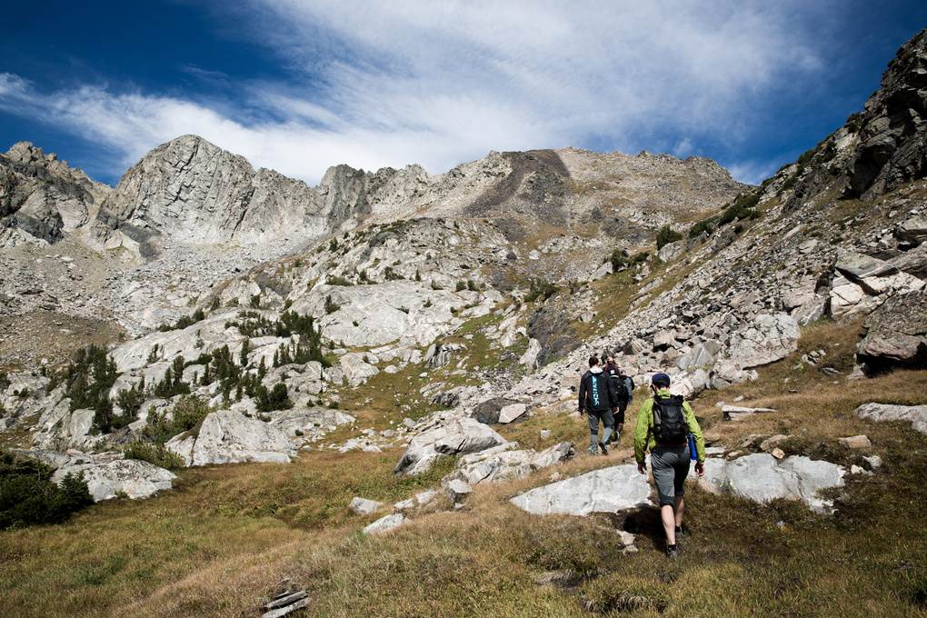 Ascending Montana by Chris Cardoza
