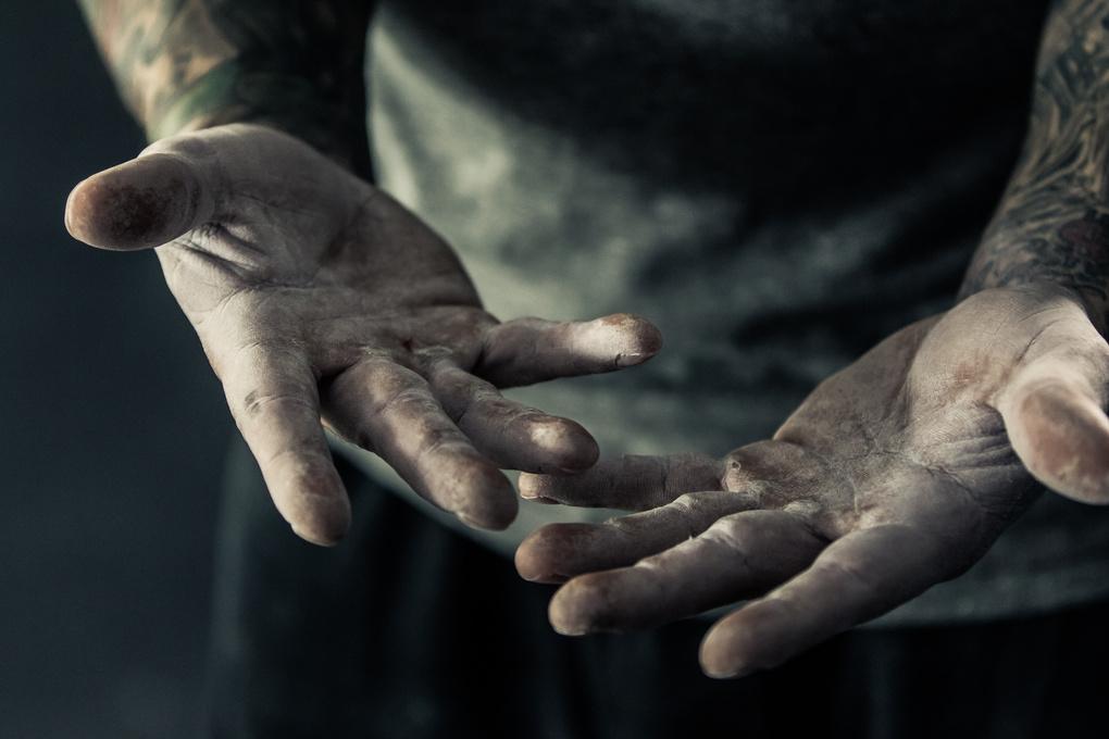 Hands of Strength by Chris Cardoza