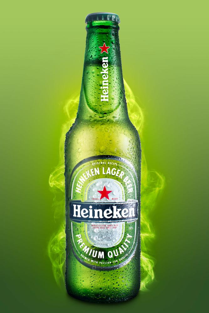 Heineken Beer by Guillermo Fierro