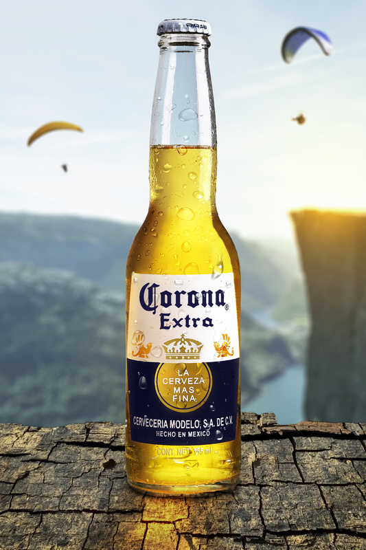 Corona beer by Guillermo Fierro