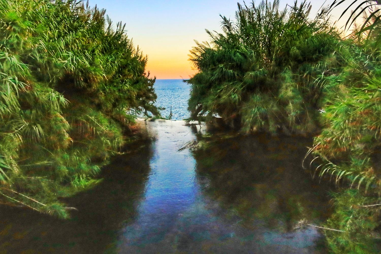 River & sea by İsmail Alper Şenova