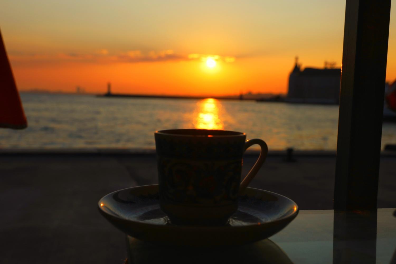 A cup of coffee by İsmail Alper Şenova