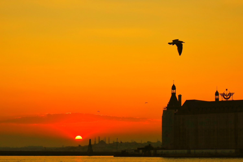 Istanbul at sunset. by İsmail Alper Şenova